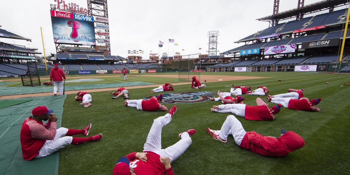 Phillies: 5 players test positive for virus at Florida camp