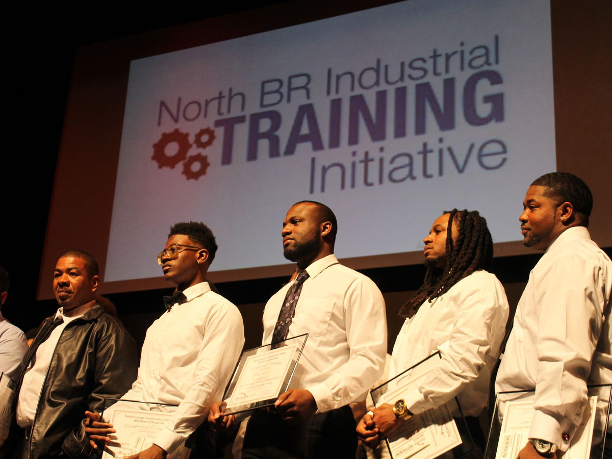 40 students graduate from North Baton Rouge Industrial Training Initiative