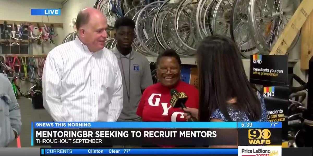 MentoringBR encourages adults to become mentors for youth - 5:30 a.m.