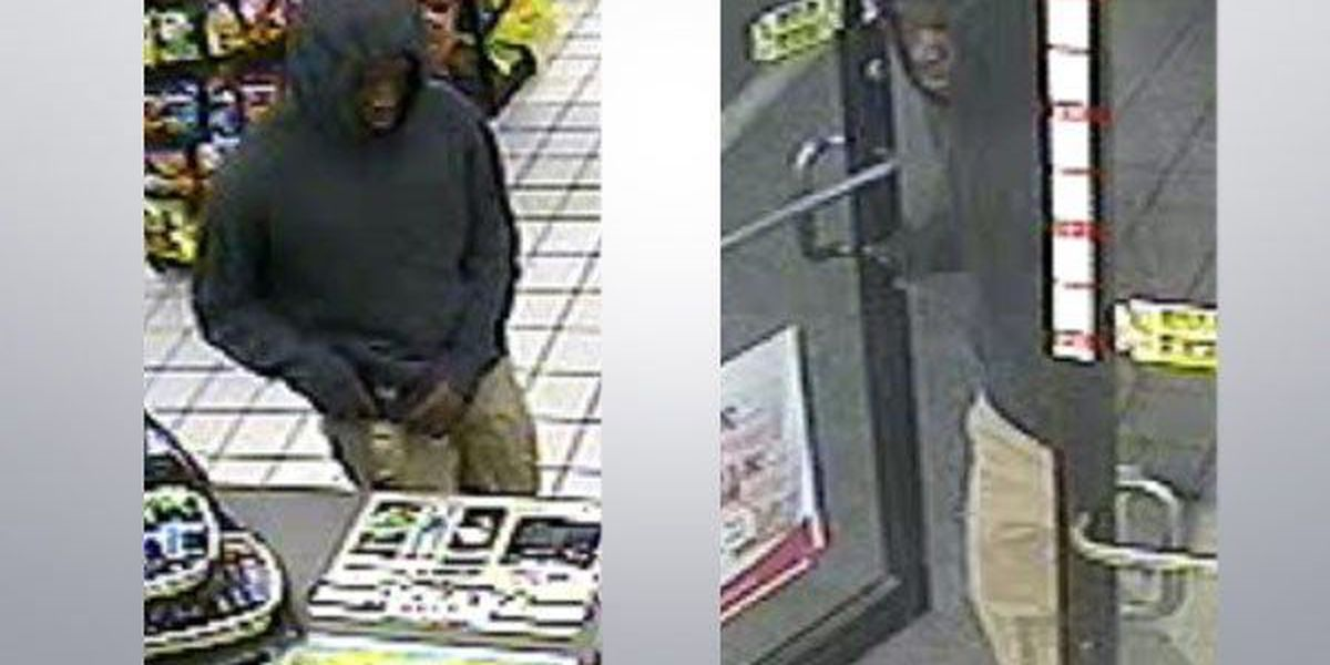 Police searching for accused armed robber