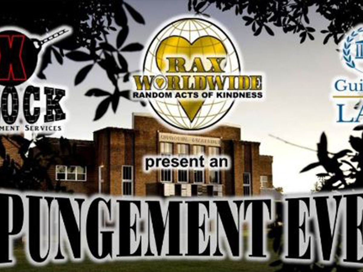 Expungement event in Plaquemine scheduled for Sept. 14