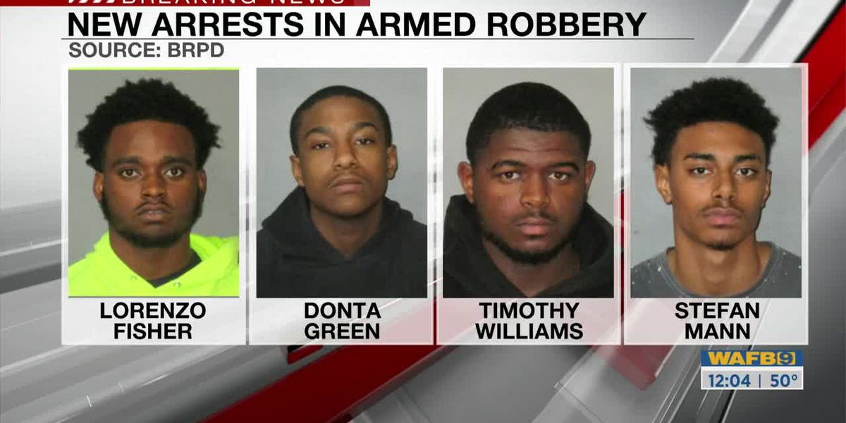 New arrests in armed robbery at LSU dorm