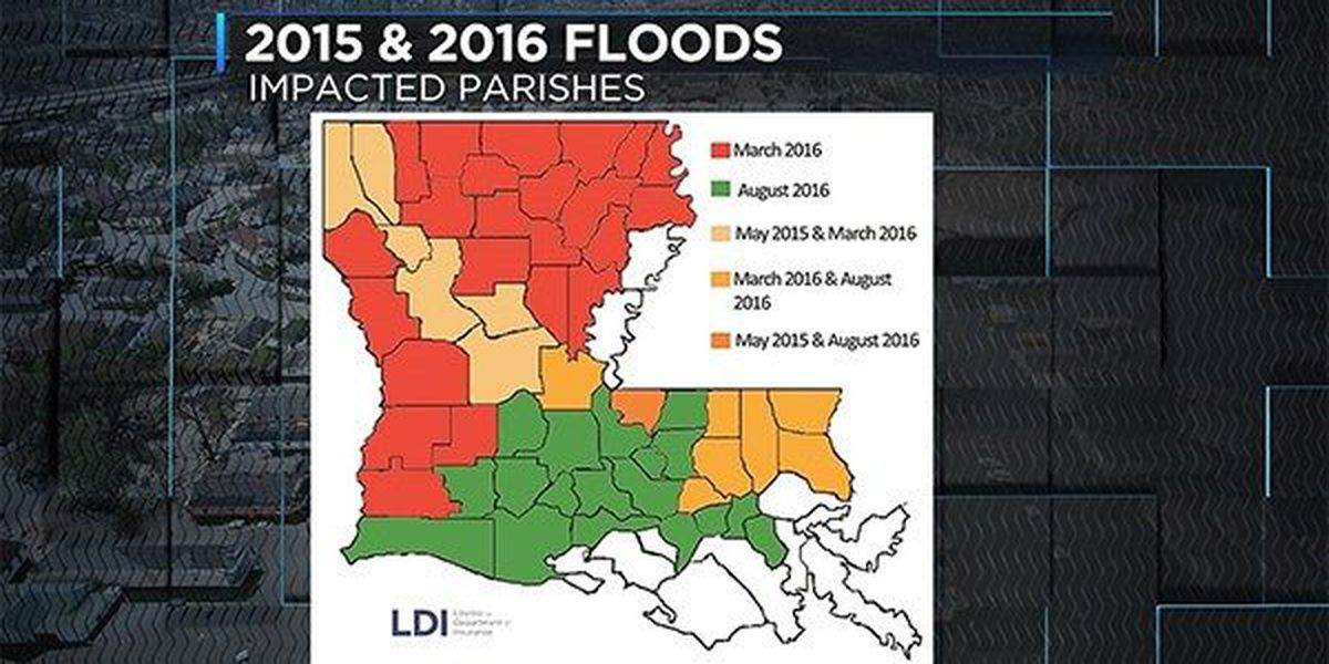 Louisiana leads country by far in flood insurance payouts