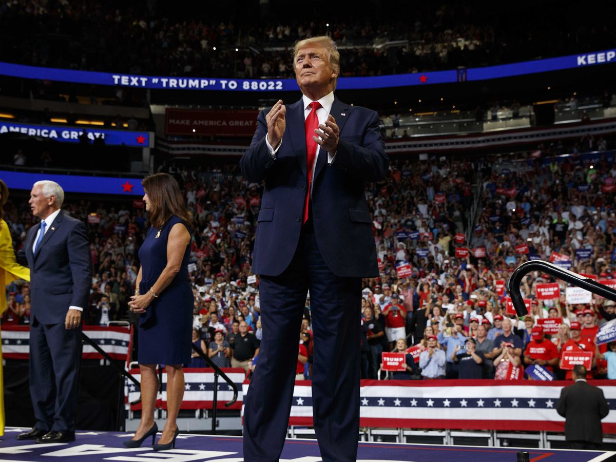 Trump rehashes gripes, rips 'radical' Dems in 2020 launch