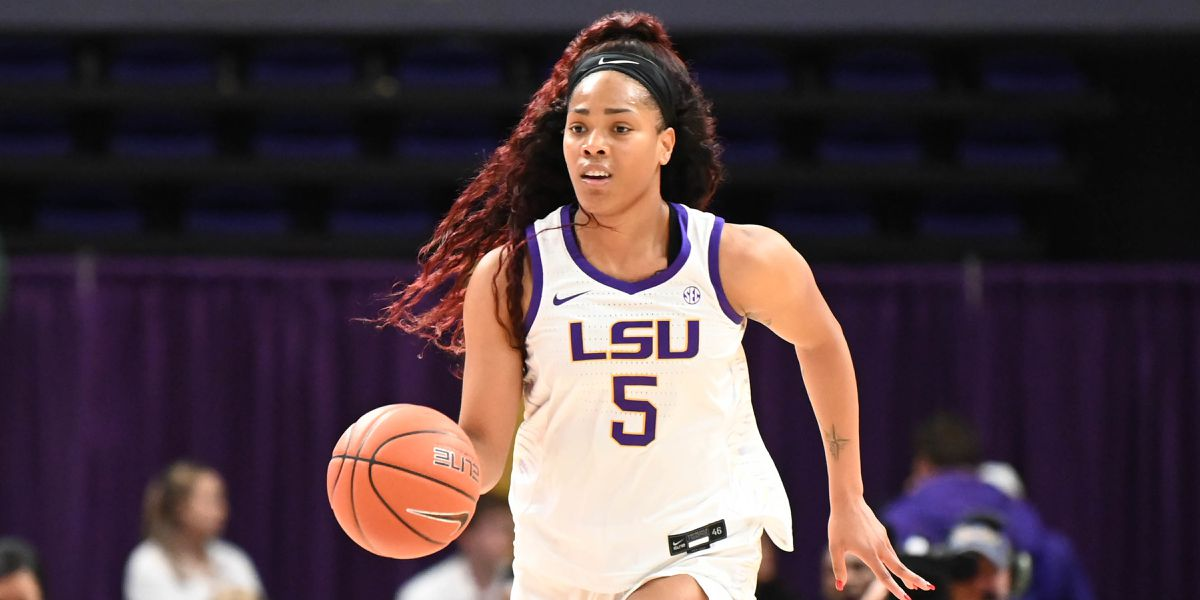 Mitchell scores 21, No. 25 LSU women top Nicholls St 63-32