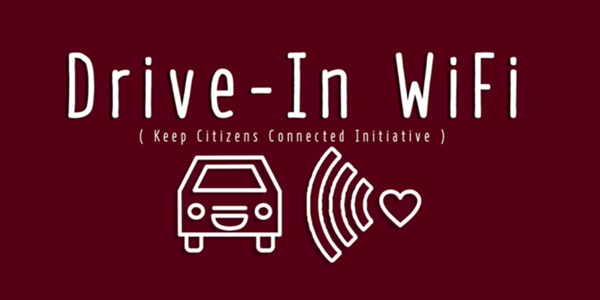 'Drive-In WiFi' initiative allows free internet access while staying in your car