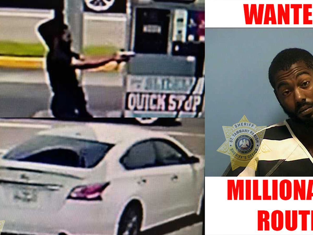 Man named Millionaire Route wanted in gas station shooting