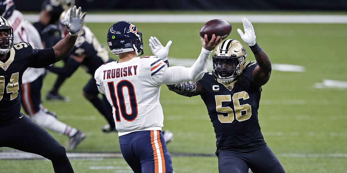 Saints' defense dominates in 21-9 win over Bears in NFC Wild Card
