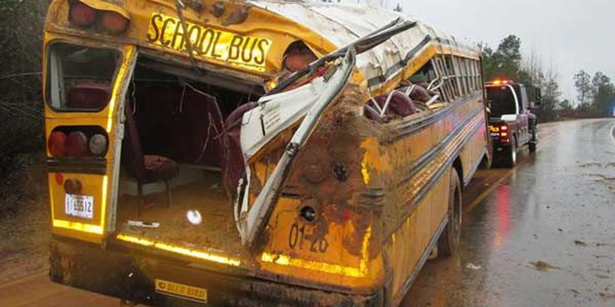 12 injured in Rapides Parish school bus crash