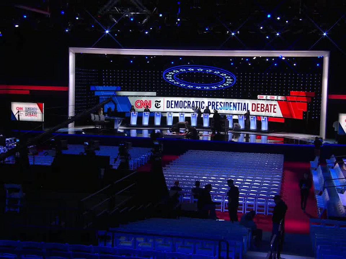 Biden, Warren, Sanders face scrutiny at Democratic debate