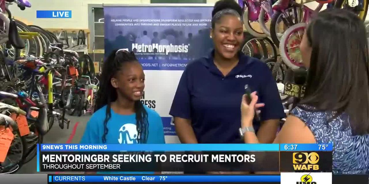 MentoringBR encourages adults to become mentors for youth - 6:30 a.m.